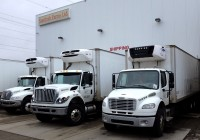Our fleet includes 3 tractors, four trailers and four 5 ton trucks